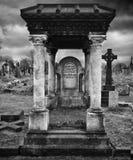 Viktoriansk grav - gotisk stil Royaltyfri Foto