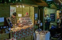 Viktoriansk julmarknad - Gloucester kajer 49 Fotografering för Bildbyråer