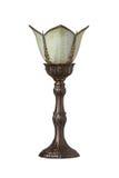 Viktoriansk lampa Arkivfoto