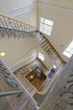 Viktoriansk trappuppgång Arkivbilder