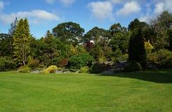 Viktoriansk walled trädgård, Irland Arkivfoto