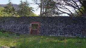 Viktoriansk walled trädgård, Irland Royaltyfria Foton