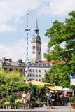 Viktualienmarkt i Munich Royaltyfri Foto