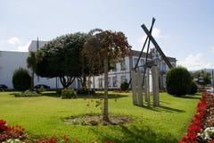 Vila Нова de Cerveira, Португалия стоковое изображение