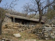 Vila abandonada Foto de Stock