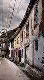 Vila abandonada Fotos de Stock