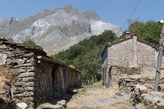 Vila abandonada Vergheto fotografia de stock