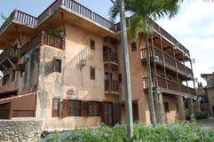 Vila antiga Alto de Chavon - cidade colonial Fotografia de Stock