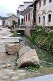 Vila antiga chinesa - vila de Pingshan Imagens de Stock Royalty Free