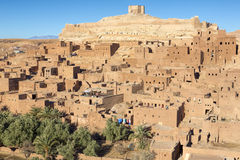 Vila antiga de Ait Benhaddou em Marrocos, África Fotografia de Stock
