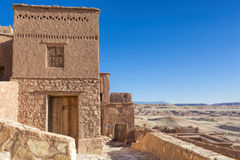 Vila antiga de Ait Benhaddou em Marrocos Imagens de Stock