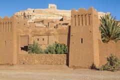 A vila antiga de Ait Benhaddou em Marrocos Foto de Stock