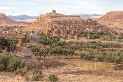 A vila antiga de Ait Benhaddou em Marrocos Fotos de Stock