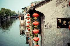 A vila antiga de China Fotografia de Stock Royalty Free