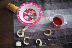vila av frukosten Royaltyfria Bilder