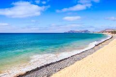 Vila Baleira beach. Coastal landscape Stock Photos