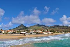 Vila Baleira - Porto Santo. Photo of Vila Baleira - Porto Santo - archipelago of Madeira - Portugal - March 2013 stock photo