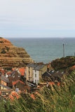 Vila bonita do harbourside, North Yorkshire Imagem de Stock
