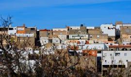 Vila branca andaluza Fotografia de Stock Royalty Free