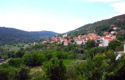 Vila Bratiskovci, Croácia Imagem de Stock