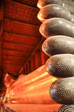 Vila Buddha i watphoen bangkok, Thailand-januari 28: vila Buddha i watpho på januari 28, 2015 Royaltyfri Fotografi