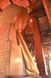 Vila Buddha i watphoen bangkok, Thailand-januari 28: vila Buddha i watpho på januari 28, 2015 Royaltyfri Foto