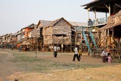 Vila cambojana Fotografia de Stock Royalty Free