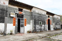 Vila chinesa Fotografia de Stock Royalty Free
