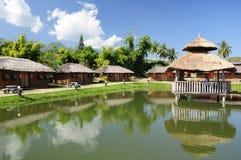Vila chinesa em Pai Mae Hong Son Fotos de Stock Royalty Free