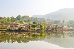 Vila chinesa - proibição Rak tailandês Imagem de Stock Royalty Free