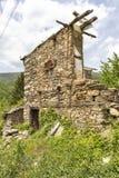 Vila com casas do século XIX, região de Kosovo de Plovdiv, Bulgária fotos de stock royalty free