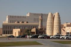 Vila cultural de Katara em Doha fotos de stock royalty free