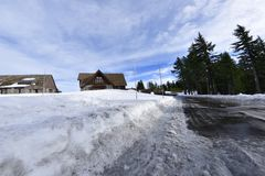 A VILA da BORDA de Carter Lake Imagem de Stock Royalty Free