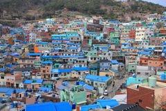 Vila da cultura de Gamcheondong Foto de Stock