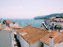 Vila da Espanha Imagens de Stock