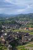Vila da minoria de Chengyang Imagens de Stock Royalty Free