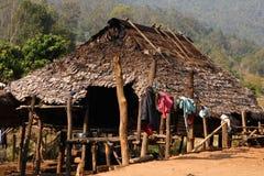 Vila da minoria de Karen foto de stock royalty free