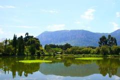 Vila da nacionalidade de Kunming Fotos de Stock Royalty Free