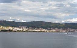 Vila da praia de Suny em Bulgária imagem de stock royalty free
