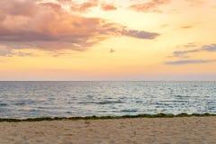 Vila da praia de Suny em Bulgária imagem de stock