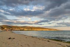 Vila da praia de Suny em Bulgária imagens de stock