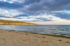 Vila da praia de Suny em Bulgária imagens de stock royalty free