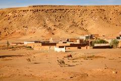Vila de Ait Ben Haddou em Marrocos Foto de Stock