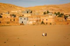 Vila de Ait Ben Haddou em Marrocos Fotos de Stock