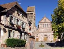 Vila de Alsacian Imagem de Stock