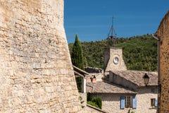 Vila de Ansouis Fotos de Stock