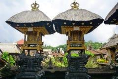 Vila de Bali Aga, Penglipuran, Bali, Indonésia Fotos de Stock