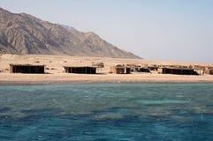 Vila de Beduin Imagem de Stock Royalty Free