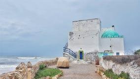 A vila de beira-mar Imagem de Stock