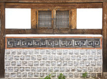 Vila de Bukchon Hanok em Seoul, Coreia do Sul fotos de stock royalty free